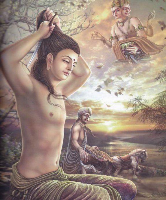 释迦牟尼佛的一生(超美高清大图) - 东方朔 - 东方朔的博客