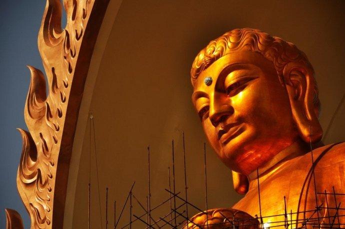 世界最高阿弥陀佛铜像东林大佛工程即将完工