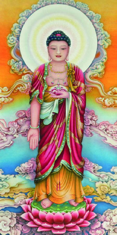 阿弥陀佛是欢喜光佛 - 极乐妙音 - 弥陀我慈父,极乐我本乡;