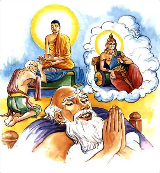 还是佛陀厉害:佛陀只用二十个字道破三世因果真谛 - 莲池佛地 - 莲池佛地